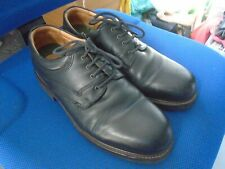 Clarks black leather Derby shoes  size 8.5