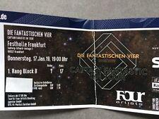 Ticket 1. Reihe (1. Rang) Die Fantastischen Vier Fanta 4 17.01.2019 Frankfurt