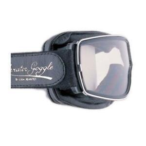 Aviator Pilot Goggles By Leon Jeantet T1 - Black / Chrome