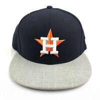 New Era Houston Astros Team Two Tone 9Fifty Snapback Hat Navy & Gray