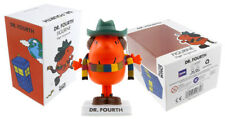 Mr Men Doctor Who Cuarto Doctor 9.5cm FIGURA DE VINILO NUEVO Bbc Oficial