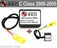 Mercedes SRS C Class  SRS Passenger Airbag Seat mat Occupancy sensor emulator