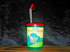 Parque Plaza Sesamo Monterrey Mexico Sesame St Cookie Monster Elmo Plastic Cup