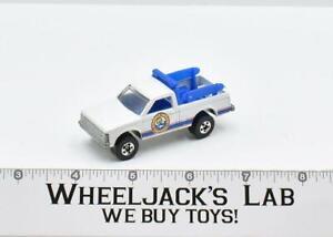 Beach Patrol #2 White Goodyear 1983 Mattel Vintage Hot Wheels