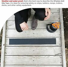 """New listing 4"""" x 60 ft Anti Slip Traction Tape Roll Non Skid Safety Sticker Grip Safe Grit"""
