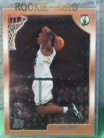 PAUL PIERCE BOSTON CELTICS 1998-99 TOPPS ROOKIE CARD