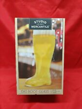 Das Boot Boot Beer Glass Large 1.4 Liter 47 Oz High Quality Clear Beer Mug