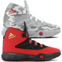 Adidas D Rose 5 Boost Basketballschuhe G98704 rot schwarz
