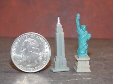 Dollhouse Miniature New York Sites Liberty Empire State 1:12 1-3/8 inch tall E17