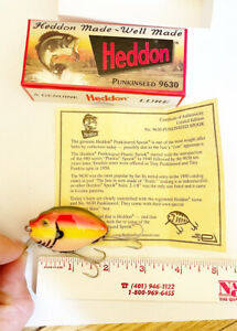 HEDDON PUNKINSEED 1ST QUALITY 9630 RB-RAINBOW *SEE INFO BELOW