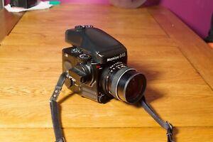 Mamiya 645 Pro Medium Format SLR - 55mm f/2.8 lens - AE viewfinder - Excellent