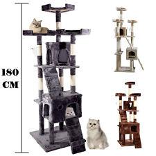 180CM Cat Kitten Scratching Post Tree Scratcher Bed Activity Centre Climbing Toy