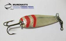 CUCCHIAINO MARTIN TIROLO 9 gr ARGENTO-ROSSO - MP120
