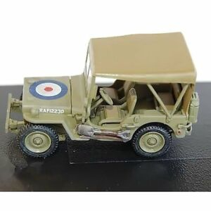 HOBBY MASTER HG4210 1/72 Willys MB Jeep with Stretcher RAF 12230