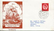 1957 Mayflower Ii Maiden Voyage Event Cachet Cover