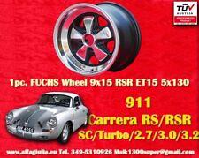 1 Cerchio Porsche 911 1 Stk Felge Wheel 9x15 RSR Look TÜV Festigkeitsgutachten