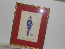 Vtg. Italian Military Museum Carabiniere a Cav.1848 Servinio AppiedaFramed Print