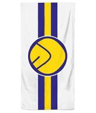 Leeds United Smiley Face Beach Towel