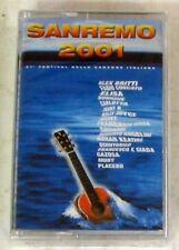 VARI - SANREMO 2001 - Musicassetta Sigillata MC K7