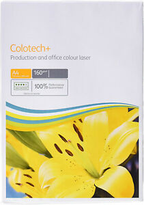 50 SHEETS A4 160GSM XEROX COLOTECH+ WHITE PAPER/CARD PRODUCTION AND OFFICE LASER