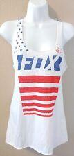 Fox Racing Womens AMERICA Red/ White Blue Tank Top- XS