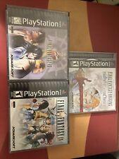 Lot 3 Final Fantasy Origins 8 9 Viii Ix Ff Ps1 Sony Playstation