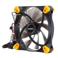 Antec TrueQuiet verdadero silencioso ventilador de caso 120mm, 2 vías, 8.9 - 19.9 DBA, 35.83 pies cúbicos por minuto