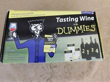"""New listing Luminarc """"Tasting Wine for Dummies"""" Kit New in Box Game Cards Tasting Party Fun!"""