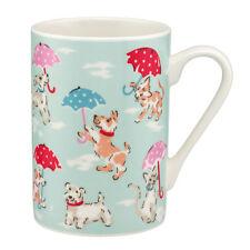 Cath Kidston  Raining Cats And Dogs Mug Grace Fine China Mug, New With Stickers