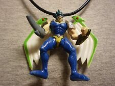 Yugioh Elemental Hero Tempest Figure Charm Anime Necklace Collectible Jewelry