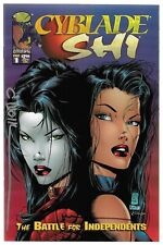 Cyblade Shi The Battle for Independents 1 Signed by 2 Autographed 1st Witchblade