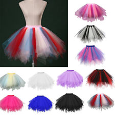 NEW Fashion Women Pleated Gauze Short Mini Skirt Adult Tutu Swing Dancing Skirt