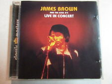 JAMES BROWN AND THE SOUL G's LIVE IN CONCERT 16 TRK GERMAN IMPORT CD SOUL R&B