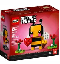 LEGO 40270 Brick Headz Valentines Bee Seasonal  brand new in box auseller