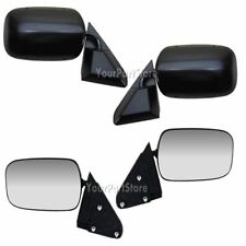 88-98 CHEVY GMC PICKUP PU Truck BLACK DOOR MIRRORS LEFT & RIGHT Set PAIR