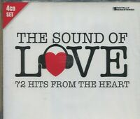 THE SOUND OF LOVE - 72 HITS FROM THE HEART - VARIOUS ARTISTS on 4 CD'S