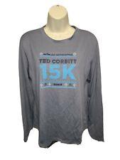 2018 New Balance Nyrr Ted Corbitt 15K Run Womens Gray Xl Jersey
