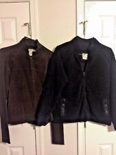 OLD NAVY Zip Fleece Pea Coat & JOHN PAUL RICHARD Suede Jacket Size XL Lot Of 2 ~
