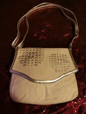 Authentic Playboy Collection Shoulder Bag - Glitter Cream & Silver. Please...