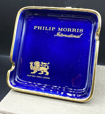 Alter Aschenbecher Philip Morris aus Porzellan