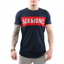 JACK & JONES Herren Rundhals T-Shirt JCOCHARLIE TEE SS Sky Captain Größe XL