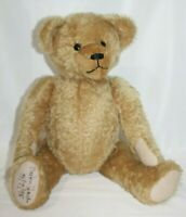 JOHANNA HAIDA Teddy Bear Tan Brown  Mohair GROWLER Martha Muller Germany 23""