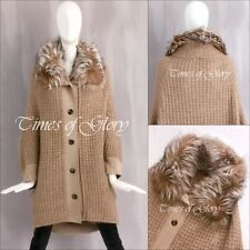 Knee Length Fox Fur Coats & Jackets for Women