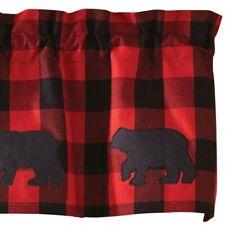 Buffalo Check Bear Valance