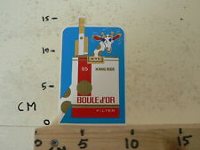 STICKER,DECAL BOULE D'OR 25 KING SIZE FLTER CIGARETTES SMOKING GIRAF 767 0.B.