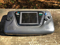 Sega Game Gear Handheld Console With Charger And Battery - Black