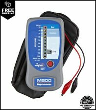 Supco M500 Insulation Tester/Electronic Megohmmeter with Soft Carrying Case