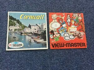 View-Master Reels – CORNWALL PLUS Illustrated catalogue sheet