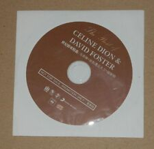 Celine Dion Best Of David Foster China Promo CD Album RARE New