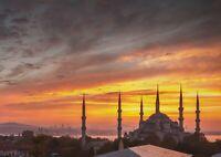 A1 Hagia Sophia Poster Art Print 60 x 90cm 180gsm Mosque Turkey Cool Gift #13054